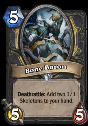 Bone Baron Card