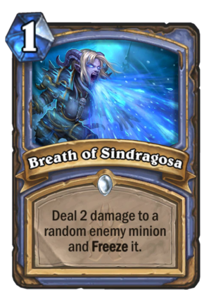 Breath of Sindragosa Card