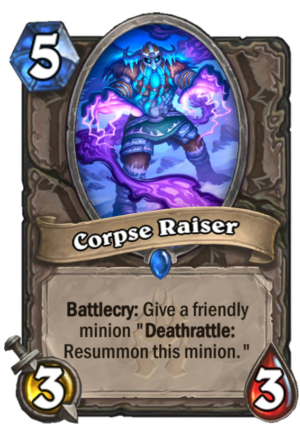 Corpse Raiser Card