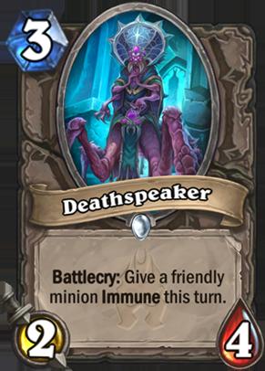 Deathspeaker Card