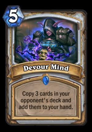 Devour Mind Card