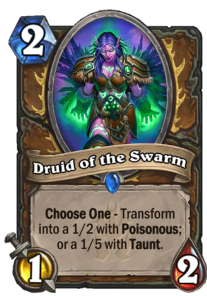 Druid of the Swarm Card
