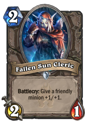 Fallen Sun Cleric Card