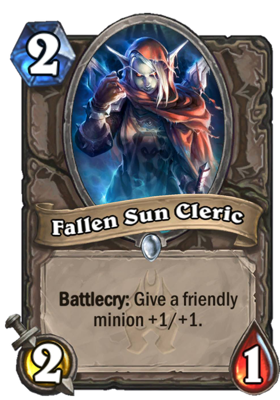 Fallen Sun Cleric - Hearthstone Card - Hearthstone Top Decks