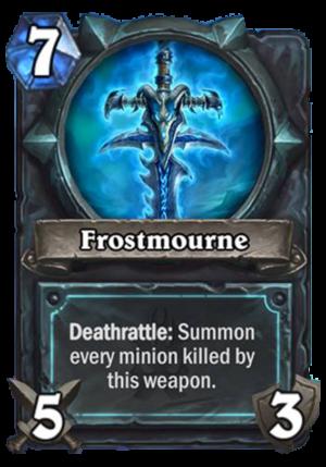 Frostmourne Card