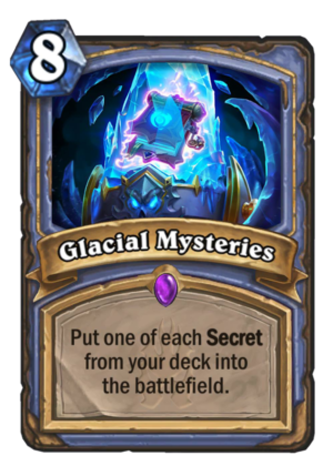 Glacial Mysteries Card