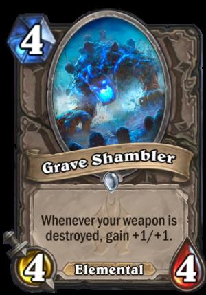 Grave Shambler Card