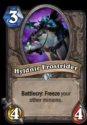Hyldnir Frostrider Card
