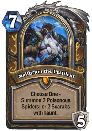 Malfurion the Pestilent Card