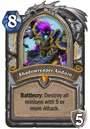 Shadowreaper Anduin Card