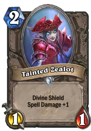 Tainted Zealot Card