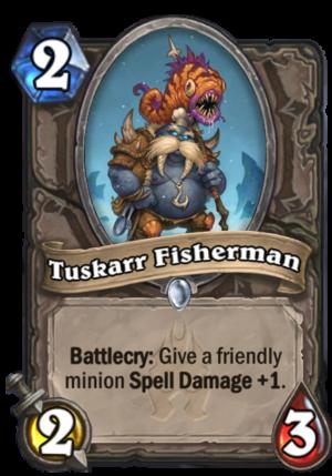 Tuskarr Fisherman Card