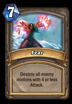 Fear Card