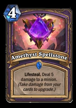 Amethyst Spellstone Card