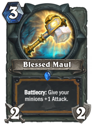 Blessed Maul Card
