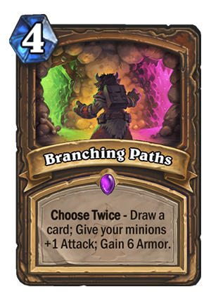Branching Paths Card
