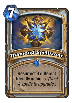 Diamond Spellstone Card