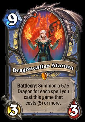 Dragoncaller Alanna Card