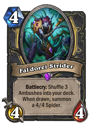 Fal'dorei Strider Card