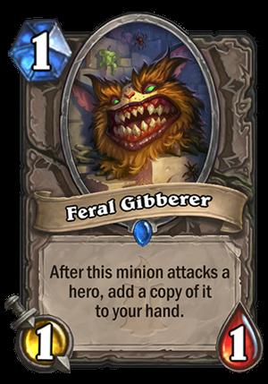 Feral Gibberer Card