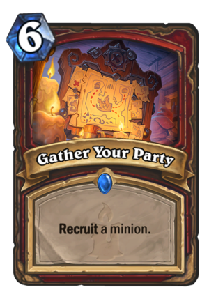 Gather Your Party Card
