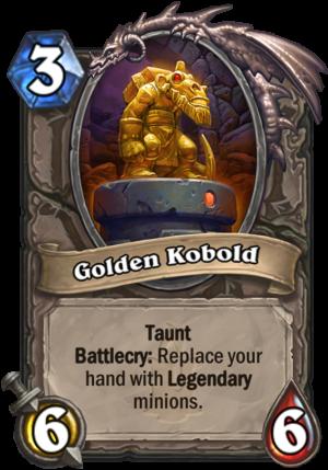 Golden Kobold Card