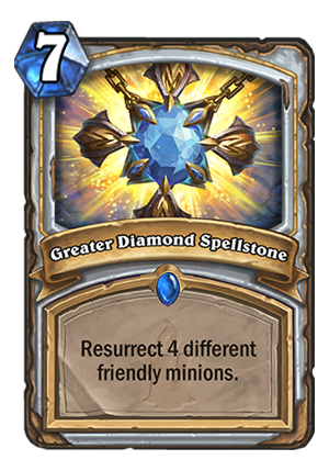 Greater Diamond Spellstone Card