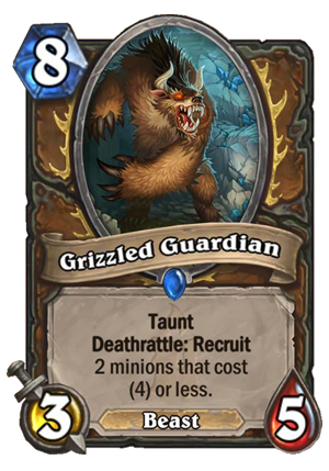 Grizzled Guardian Card