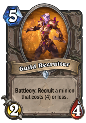 Guild Recruiter Card
