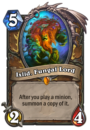 Ixlid, Fungal Lord Card