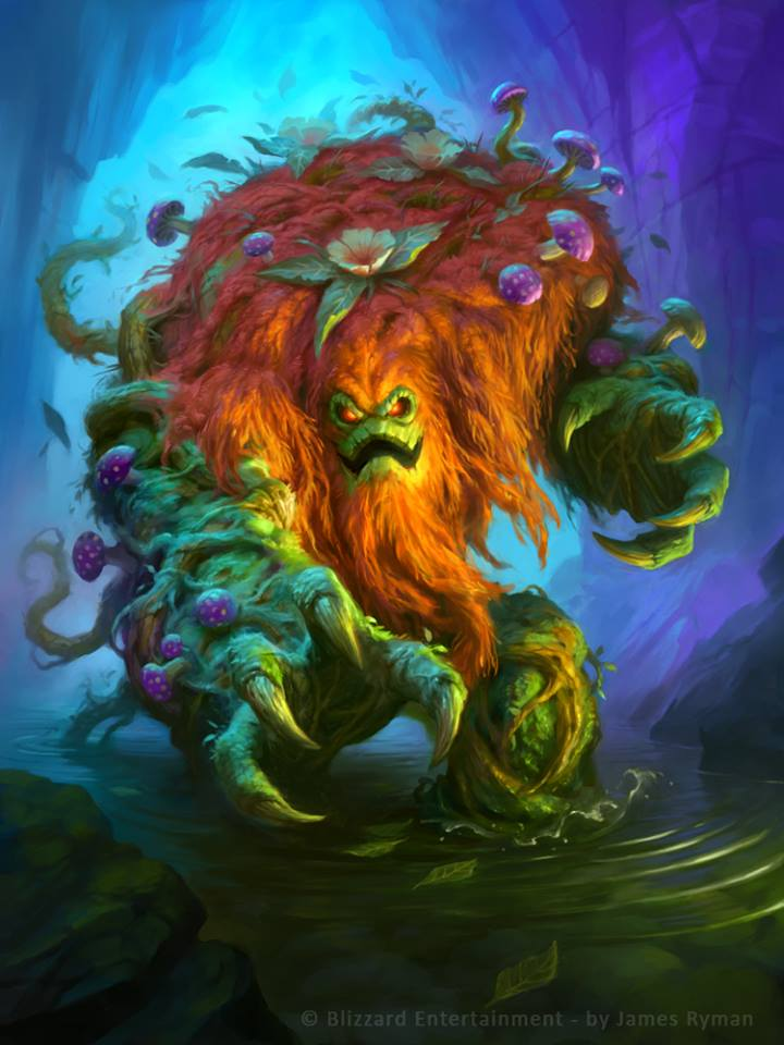 Ixlid, Fungal Lord Full Art