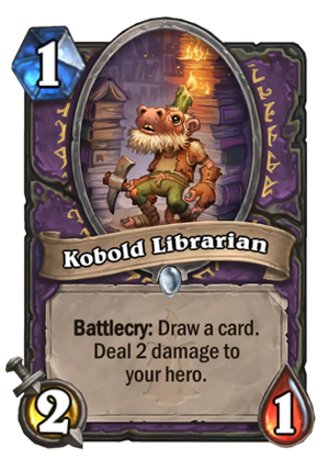 Kobold Librarian Card