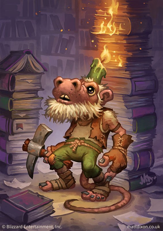 Kobold Librarian Full Art