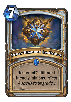 Lesser Diamond Spellstone Card
