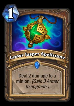 Lesser Jasper Spellstone Card