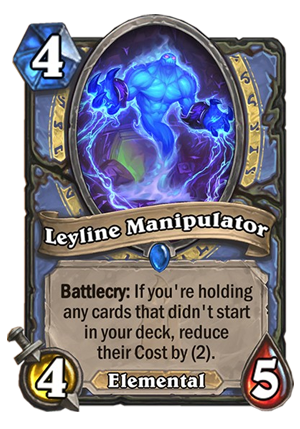 Leyline Manipulator Card