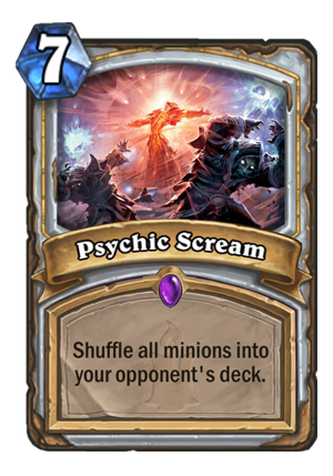 Psychic Scream Card