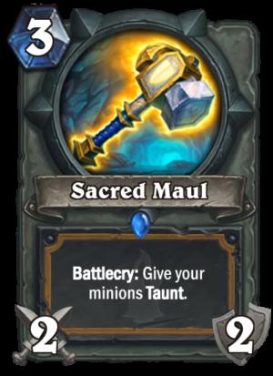 Sacred Maul Card
