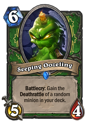 Seeping Oozeling Card