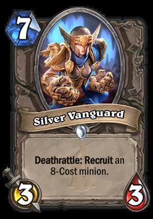 Silver Vanguard Card