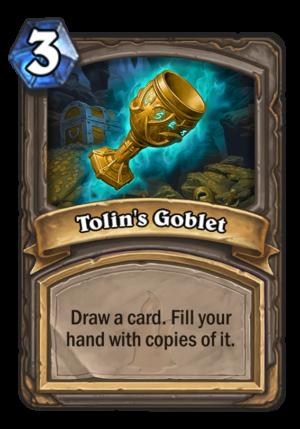 Tolin's Goblet Card