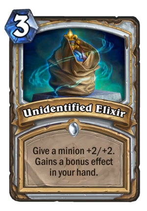 Unidentified Elixir Card