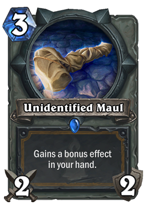 Unidentified Maul Card