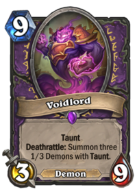 Control Warlock Deck List Guide - Boomsday - October 2018