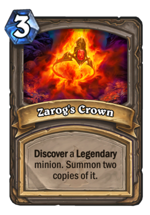 Zarog's Crown Card