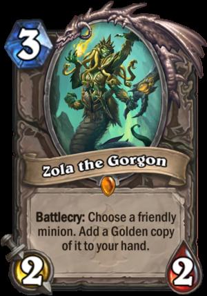 Zola the Gorgon Card