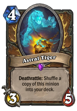 Astral Tiger Card