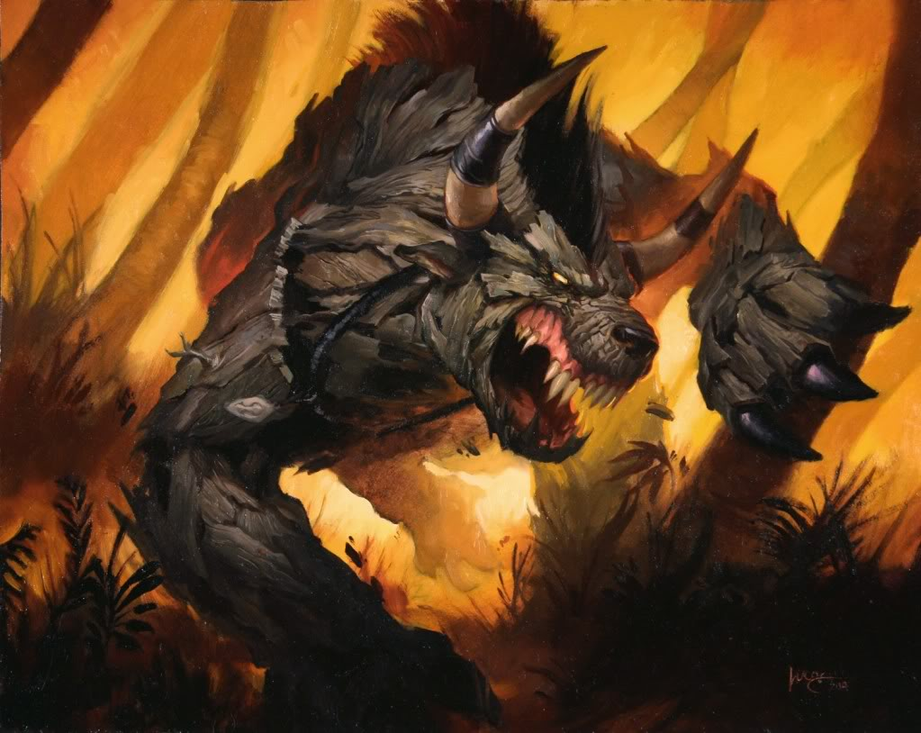 Barkskin Full Art