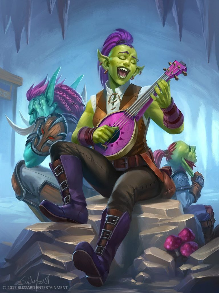 Boisterous Bard Full Art