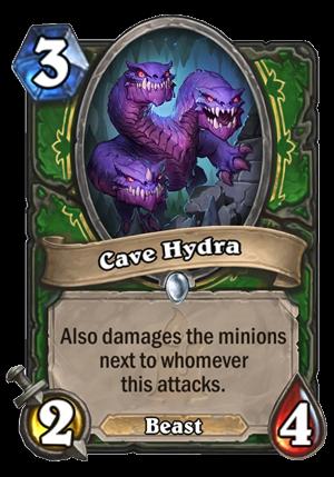 Cave Hydra Card